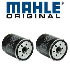 BMW E10 E21 E30 318i 320i M5 MAHLE Set of 2 Engine Oil Filter 11421258039