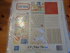 "SALE New Echo Park 12""x12"" Mini Theme Toy Box"