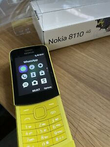 Nokia 8110 4G - 4GB - Yellow (Unlocked)
