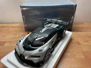 *Blitzauktion* NUR 72 Stunden 1:18 Autoart Bugatti Vision GT Silber