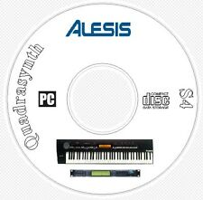 Alesis QuadraSynth + S4 Sound Patch Library, Manual, MIDI Software & Editors CD