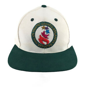 Vintage 1996 Atlanta Olympic Games Collection The Game Snapback Hat Cap
