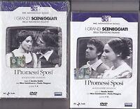 4 Dvd x 2 Box Sceneggiati I PROMESSI SPOSI con N.Castelnuovo completa nuovo 1967