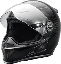 286514809 Polaris Slingshot Carbon Fiber Full Face Helmet - Black, XLarge