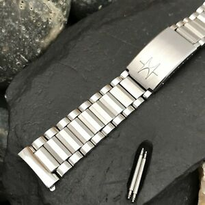 rare Hamilton 18mm Stainless Steel Bullet Link Baldwin Vintage Watch Band