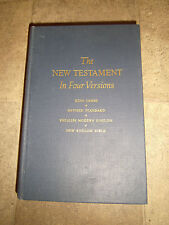 The New Testament in Four versions Christianity Today Ed. 3rd Print 1964 HC
