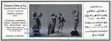 Porzellan Dressel & Kister Passau Reklame von 1916 Porzellanfabrik Malerei ad