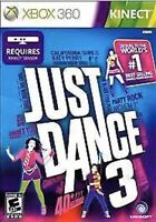 Just Dance 3 Xbox 360 game disc only 26z Kids Kinect