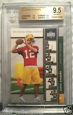 AARON RODGERS Packers 2005 Upper Deck BGS 9.5 quad 9.5 four GEM MINT subgrades !