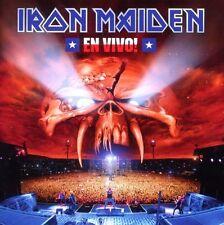 "IRON MAIDEN ""EN VIVO! LIVE IN SANTIAGO DE CHILE"" 2 CD NEW+"