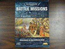 Battle Missions * Expansion * Warhammer 40k * Games Workshop