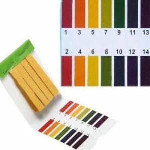 3 ensemble 240 bandes professionnelles 1-14 papier de tournesol pH bandes d I7L8