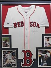 2a783a9c4 ROGER CLEMENS Signed Autographed Boston Red Sox Jersey Matted   Framed w   Photos