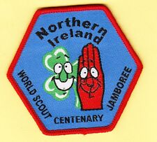 Boy Scout Badge 21 WORLD JAMBOREE 2007 Northern Ireland