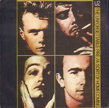 "U2 ‎– The Unforgettable Fire (1985 VINYL SINGLE 7"" EUROPE)"
