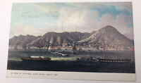 Vintage A View Of Victoria Hong Kong China As Seen In 1860 Postcard Foreign Rare