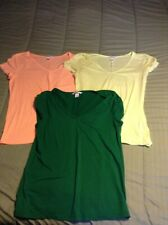 Victoria's Secret Tee Shirt Shop Tee Shirt Lot Of 3 XL VGC