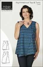 Indygo Essentials - Asymmetrical Top & Tunic IJ1149E  Sewing Pattern- NEW!