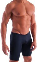 BLACK Run/Bike/Swim/Compression Spandex Shorts 4 Sizes Gay Interest?