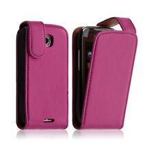 Housse coque étui pour Samsung Galaxy Teos i5800 couleur rose fushia + Film Prot