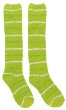 Fuzzy Socks Ladies Knee Length Sizes 9 To 11 Lounging Cozy Socks