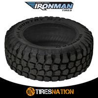 (1) New Ironman All Country M/T 35X12.5X17 121Q Mud-Terrain Performance Tire