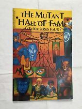 THE MUTANT HALL OF FAME  ALBUM NON COMPLETO IN INGLESE MARVEL