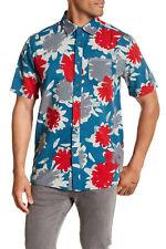 VOLCOM Men's S/S Button Shirt BALLAST - FLB - Large - NWT