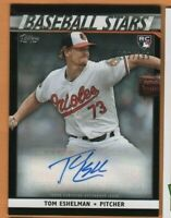 2020 Topps Baseball - Autograph Card - Tom Eshelman RC - Baltimore Orioles