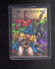 2016 Cryptozoic DC Justice league Amber Shelton sketch card