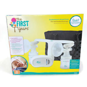 The First Years Quiet Expressions Breast Pump New Unopened Free Shipping