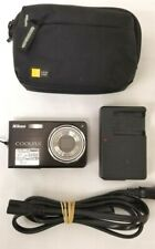 Nikon COOLPIX S550 10.0MP Digital Camera + Charger + Case + Fast Shipping