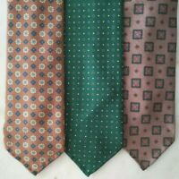 Sevenfold Bespoke Handmade Made To Order Macclesfield Silk Tie British Fabric