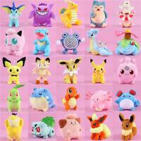 Cute Pokémon popular Anime Soft Plush Toy Stuffed Doll Kid Baby Gift