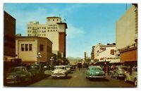 1950s Congress Street looking West, Tucson, AZ Postcard *4S