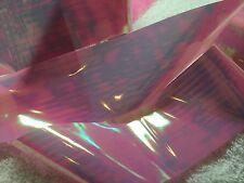 Nail art /holographic broken glass angel paper /foil Pink/blue 1 meter length