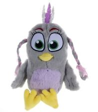"OFFICIAL NEW 12"" ANGRY BIRD MOVIE 2 SILVER SOFT PLUSH TOY"