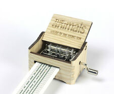 The Animals - House of the Rising / Hand Crank Paper Strip Wooden Music Box