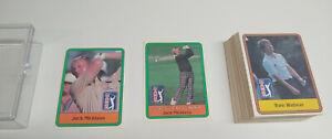 1981 Donruss Golf Complete Set (66) Jack Nicklaus RC Rookie Tom Watson Trevino