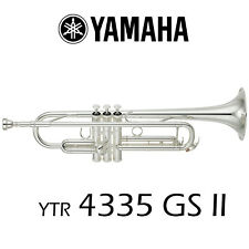 Yamaha YTR-4335-GS-II Trumpet | Silver Plated