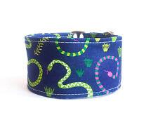 "2"" Martingale Dog Collar SWAMP SNAKES Large GREYHOUNDS OR SIMILAR BREEDS"