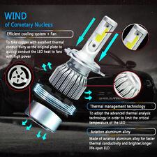 COB H4 C6 225000LM 1500W LED Car Headlight Kit Hi/Low Turbo Light Bulb 6000K BG1