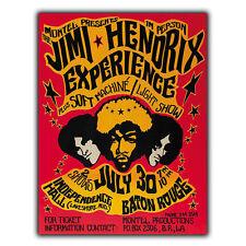 La experiencia de Jimi Hendrix 1970 letrero de metal placa de estilo vintage y retro Anuncio Cartel