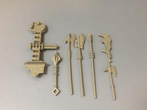 1982 HE-MAN MOTU Castle Grayskull WEAPONS LOT Mattel Vintage Accessory