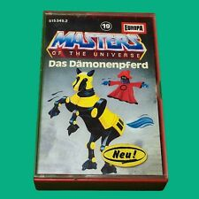 Masters of the Universe Kassette MC Folge 19 Das Dämonenpferd  #