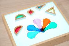 Tavolo Luminoso - Gioco Per Bambini - Metodo Montessori - Giochi Educativi -Lois