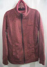 Women's Size S Red Zip Up Heavyweight Crew Sweatshirt by O'Neill