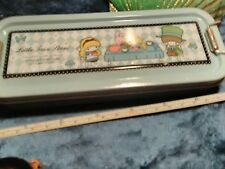 Vintage little twin stars pencil case, unobtainable,extremely rare.new condition