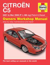 H4745 Citroen C5 Petrol & Diesel (2001 to Mar 2008) Haynes Repair Manual