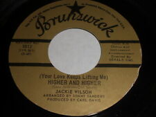 Jackie Wilson: (Your Love Keeps Lifting Me) Higher And Higher 45 - Soul